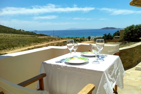 Andros Luxury House (4adults Sea V) - Κυπρί