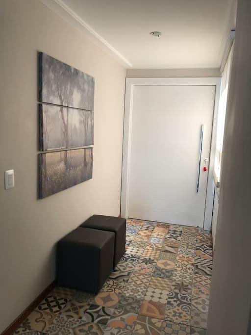 Entrada -hall do apartamento
