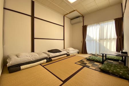 Japanese style tiny house. Mishima-Hirokouji Sta.