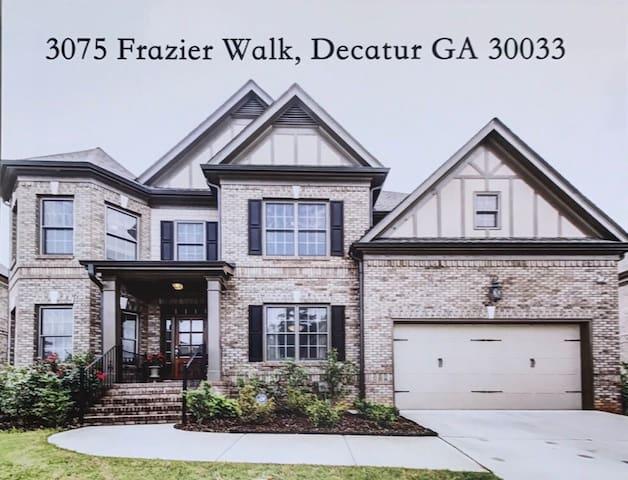 Opulent home in Decatur