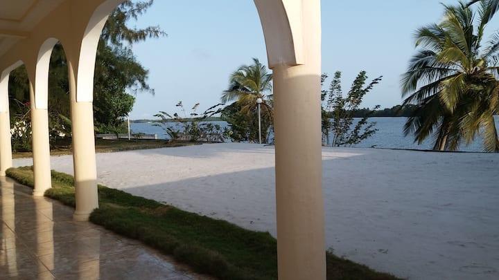 Splendid view over the lagoon