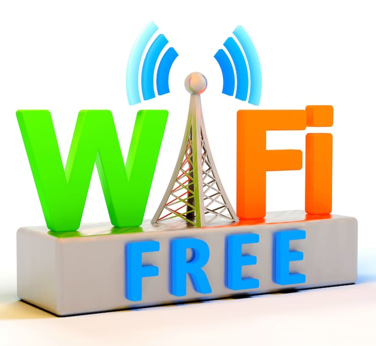Free fast speed internet (satellite) is offered to guests during their stay.