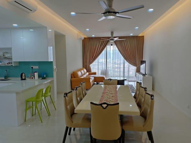 The cozy&luxurious condominium in KL