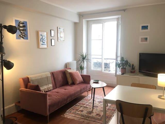 Montmartre : cosy flat