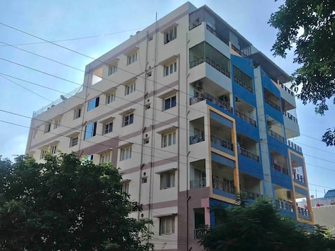 Sri Balaji Residency 2BHK (A/C) Apartment