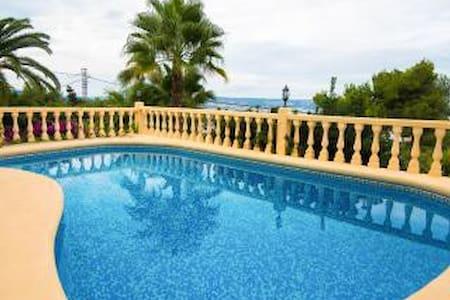 Casa Anna: privé,groot terras - Xàbia