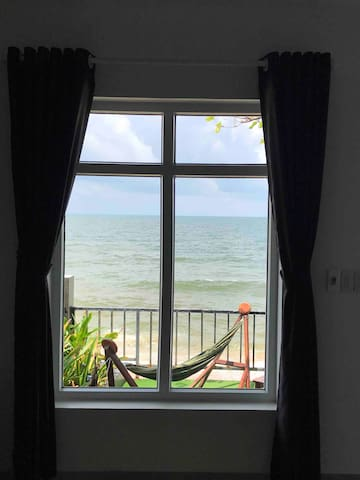 View from bedroom.