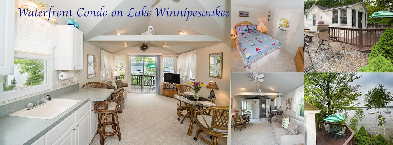 Waterfront Cottage on Lake Winnipesaukee