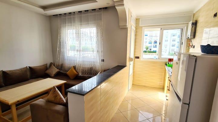 Apartment 150Meters walk to the beach In Martil