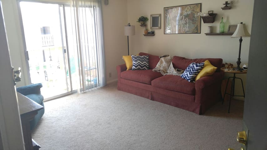 Quiet Apt for Budget Traveler. 12 min from campus! - Lafayette - Daire
