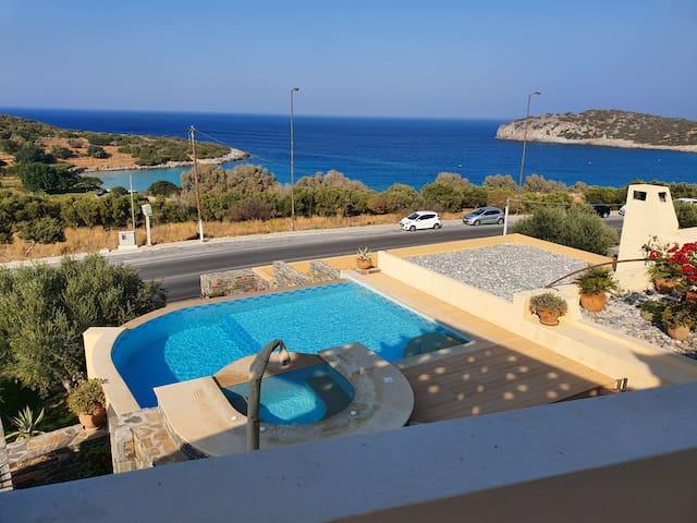Villa Azure Sea - Istron, Agios Nikolaos, Crete,