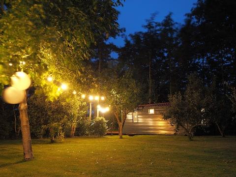 Gastenverblijf Tiny house Middelsea [Leeuwarden]