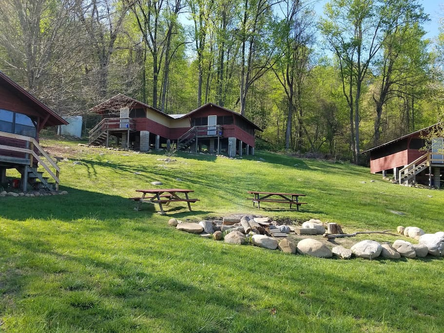 Cabin 4 Buffalo Gap Uphill Rhs Cabins For Rent In