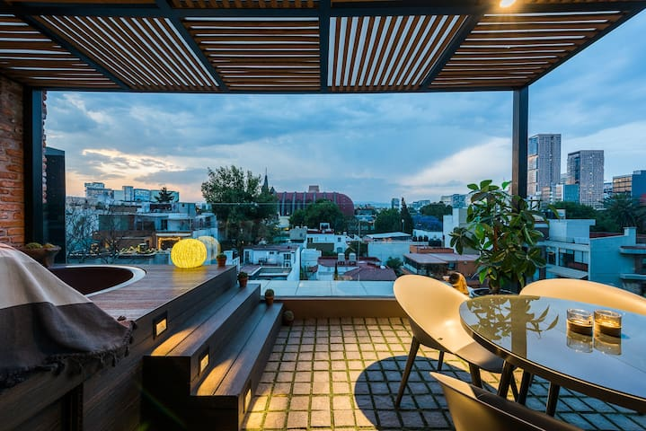 Chic Penthouse in the heart of Polanco