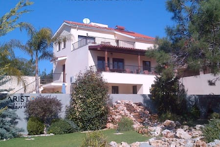 Villa Vounos FREE CAR HIRE pvt pool - Pissouri - Villa
