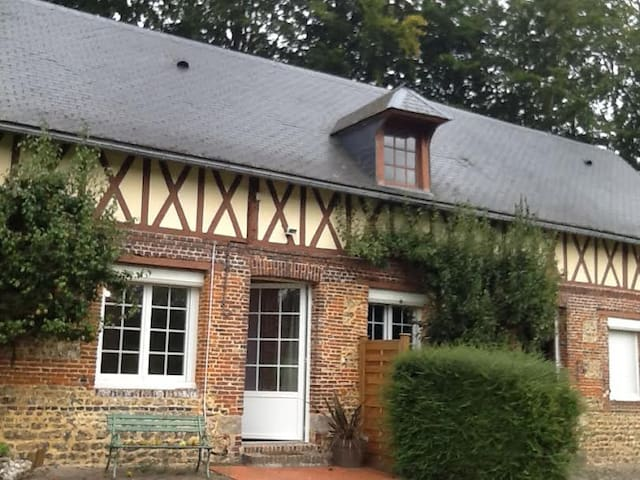 AGREABLE MAISON TRADITIONNELLE A LA CAMPAGNE - Doudeville - Nature lodge