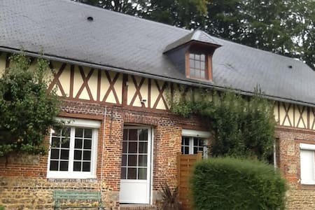 AGREABLE MAISON TRADITIONNELLE A LA CAMPAGNE - Doudeville - Natur-Lodge