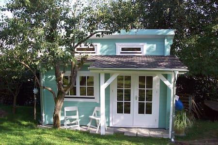 Kleines schwedisches Blockhaus in Oberschwaben - Aulendorf