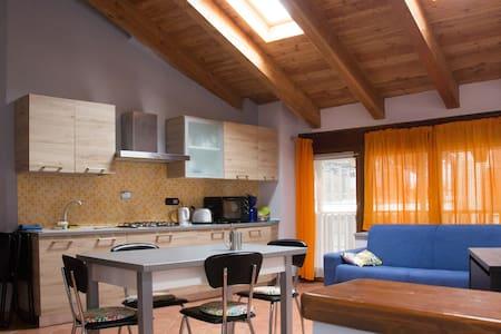 Appartamento rustico in montagna - Gravere - Hytte