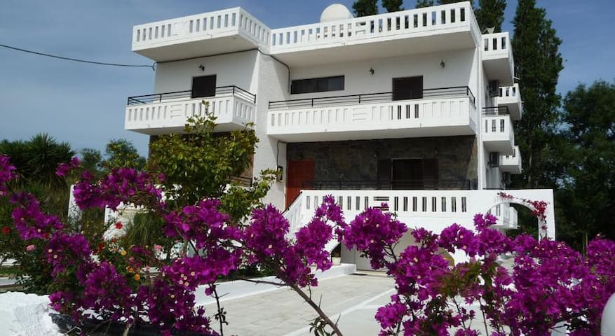 Apartment for 4 just 200m. from beach & tavernas! - Kalives - Apartment