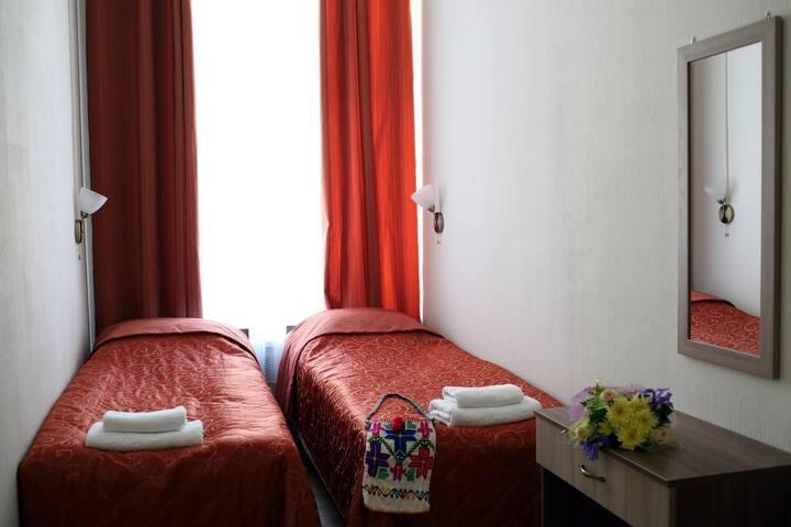 Стандартный двухместный номер с 2 кроватями