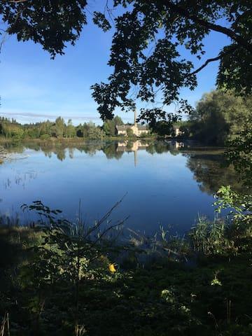 Part of the Porkuni lake