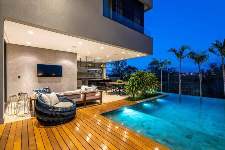 Casa altíssimo luxo que mais parece um sonho