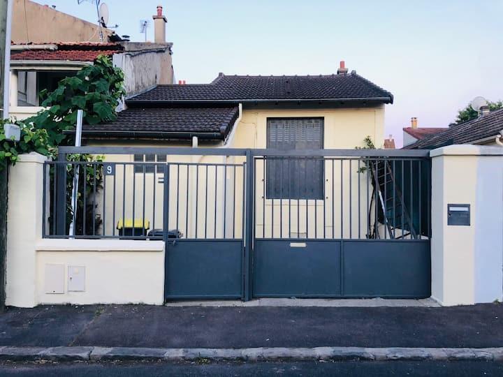 Maison cosy proche de Paris