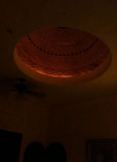 Cupula over the kitchen