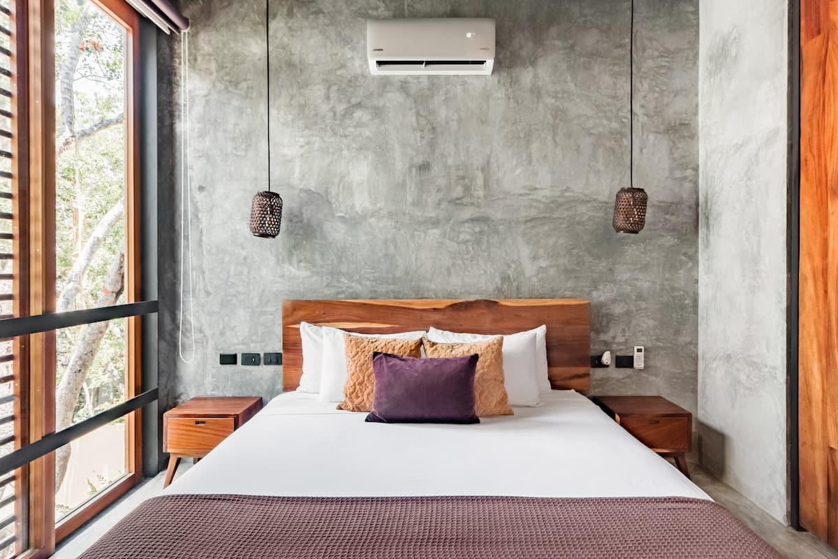 Disfruta tu descanso en una atmósfera de vanguardia estilo, y comodidad.