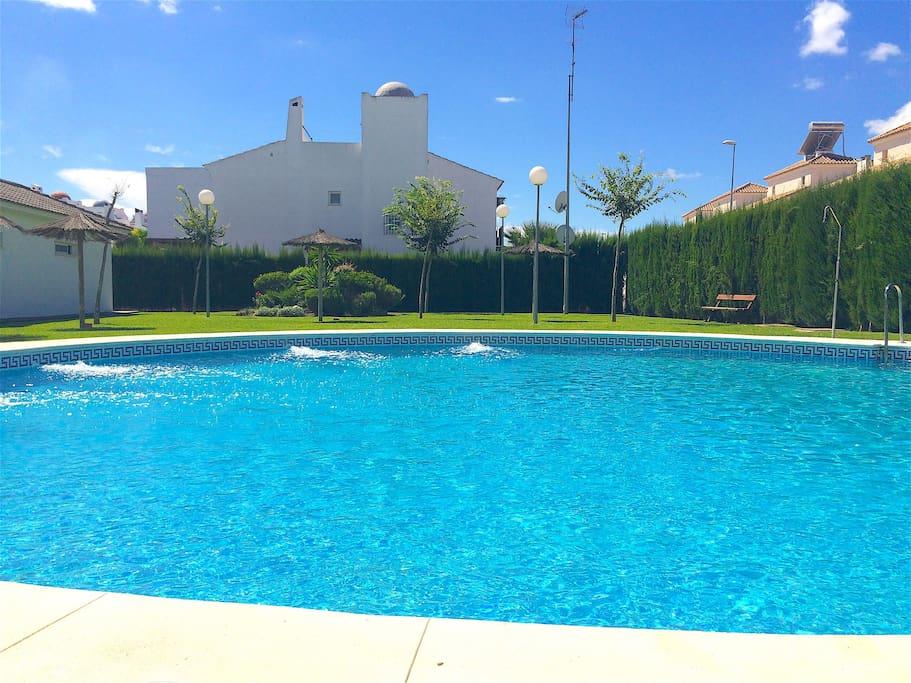 Maison avec jardin et piscine proche de s ville casas en alquiler en coria del r o andaluc a - Alquiler casa mazagon ...