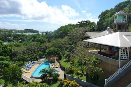 Sugarapple Inn Pool/Garden View - Grenadines - Apartmen