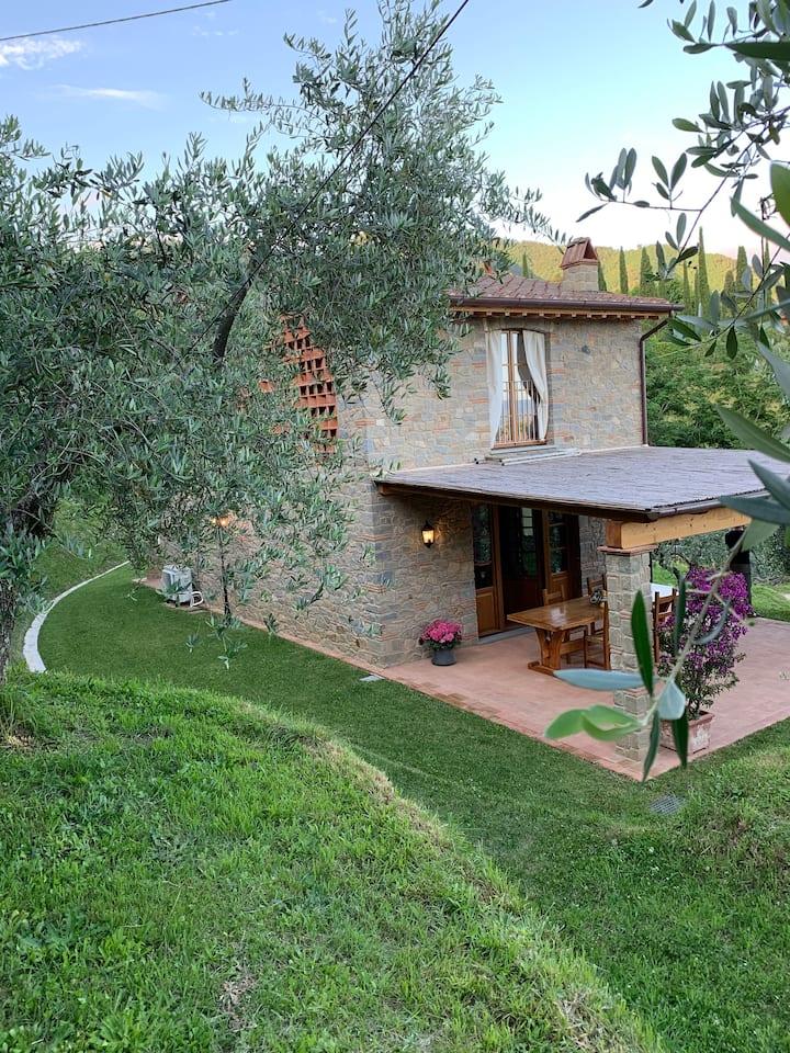 Tipica casa Toscana  immersa nella natura