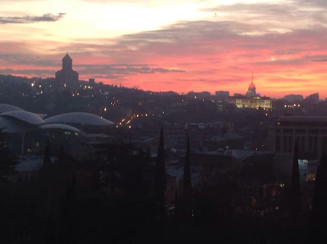 Best view in Tbilisi! :)