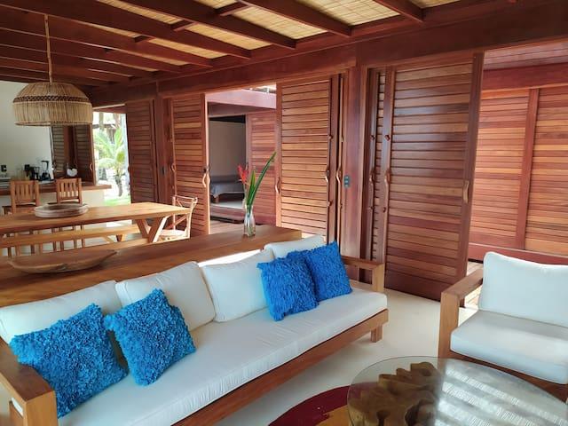 Villa 1 à beira mar em Taipu de Fora, Barra Grande