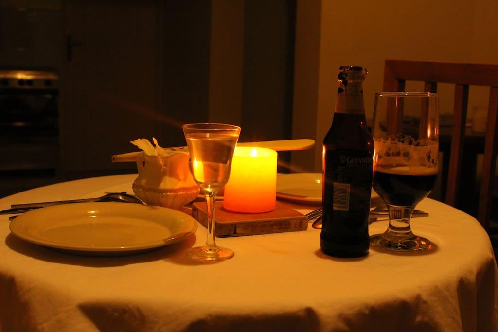 Make your own Dinner settings