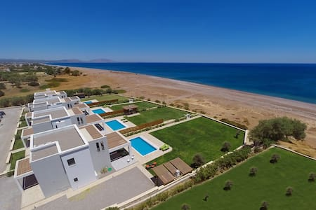 Вилла Гестия - Lahania Beach Villas - 로즈(Rhodes)