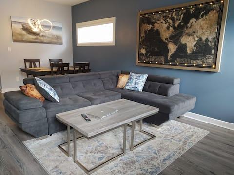 Bedroom in elegant house & all of home amenities