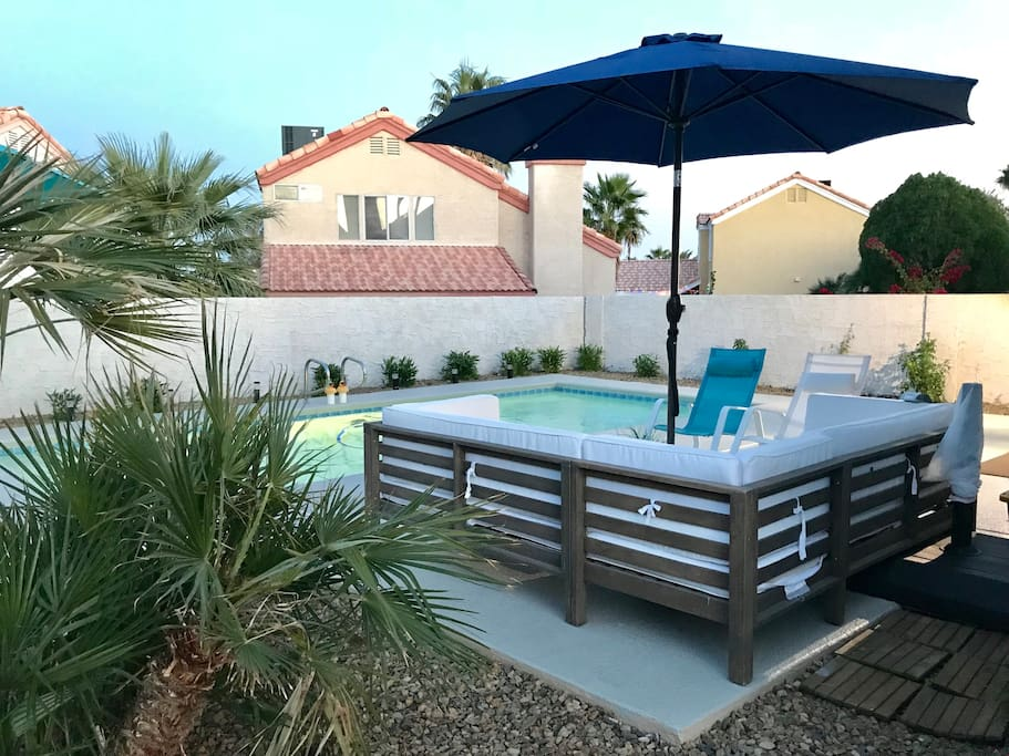 Luxury two bedroom home with pool seasonal houses for rent in las vegas nevada united states 2 master bedroom homes rent las vegas