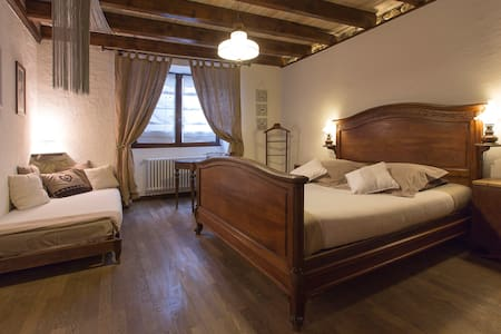 """Chambre avec salle de bain privée """"Nid Romantique"""" - Péron"""