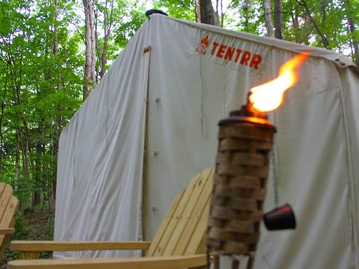 Tentrr Signature Site - The Lodge's Campsite