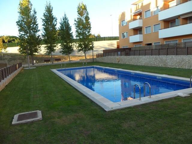 Appartement calme avec terrasse, piscine commune - Sant Feliu de Guíxols - Apartamento