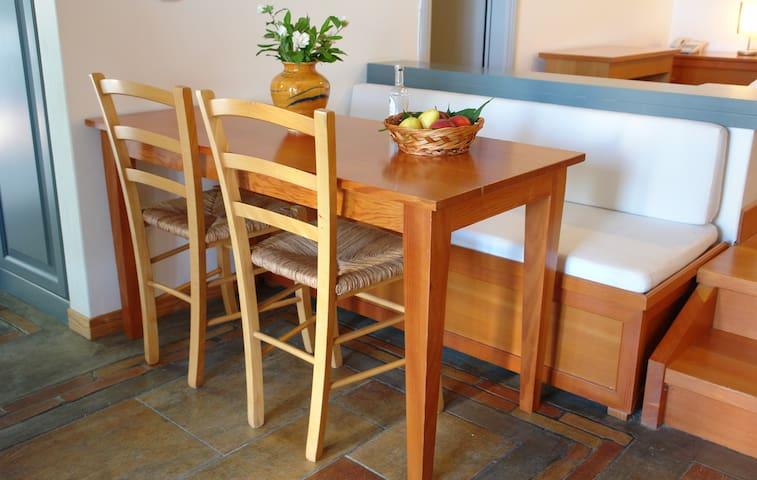 Table for breakfast or dinner