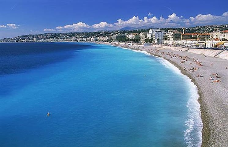 Appart.2p, 40m2 in centre of Nice near SEA (150m) - Nice - Byt