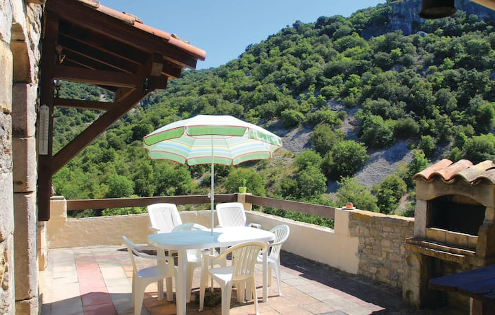 Amazing home in Rochecolombe with 1 Bedrooms