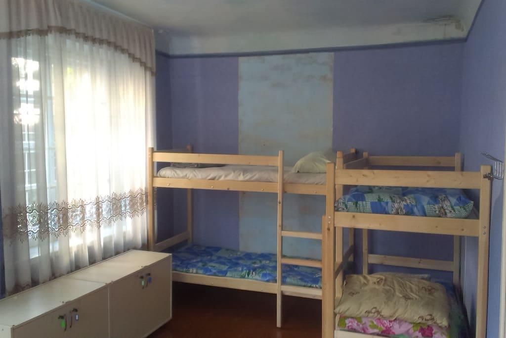 Спальня 2 на 6 человек