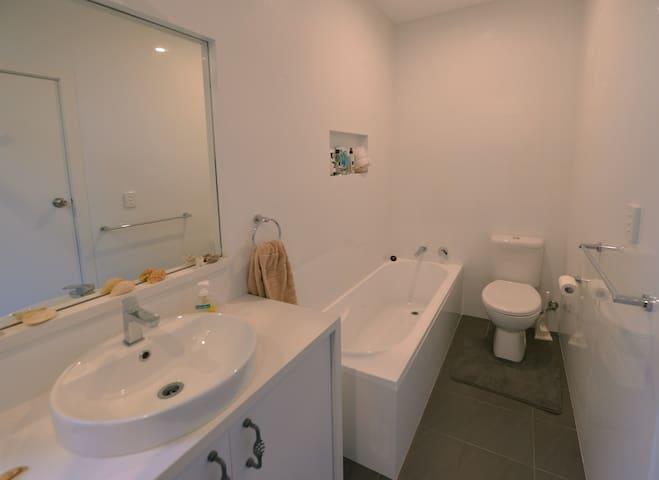 Fresh and light bathroom