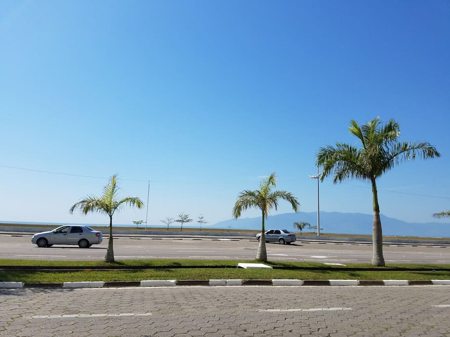 Praia de Aruan - em frente ao condomínio