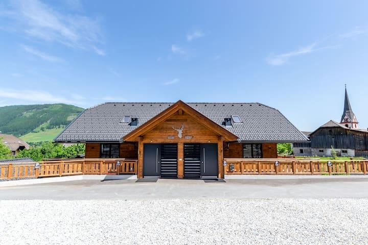 Hermoso chalet a poca distancia de la pista de esquí con jacuzzi privado y sauna