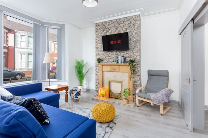 ⭐Cosy Self-Catering 3Bed House⭐Sleep 8⭐LIVERPOOL⭐